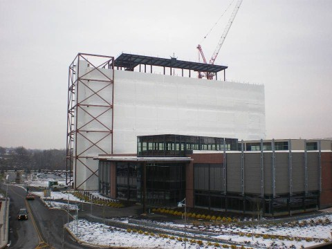 Construction Shrink Wrap Building